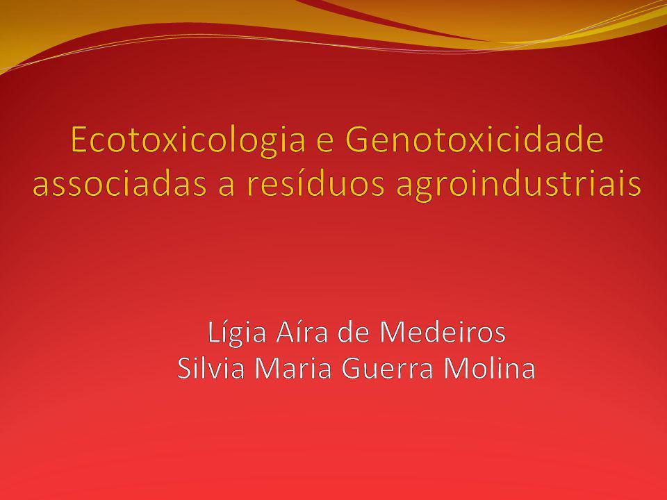 Ecotoxicologia e Genotoxicidade associadas a resíduos agroindustriais