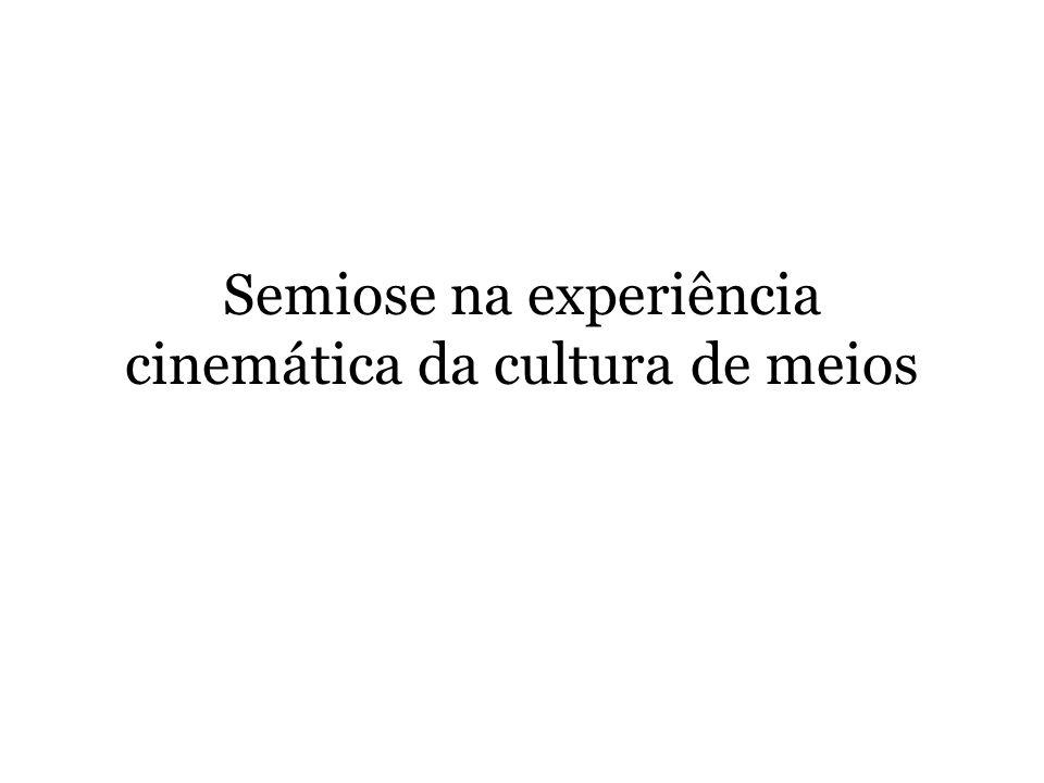 Semiose na experiência cinemática da cultura de meios
