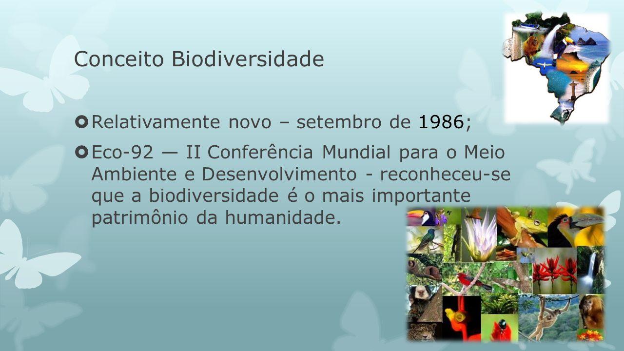 Conceito Biodiversidade