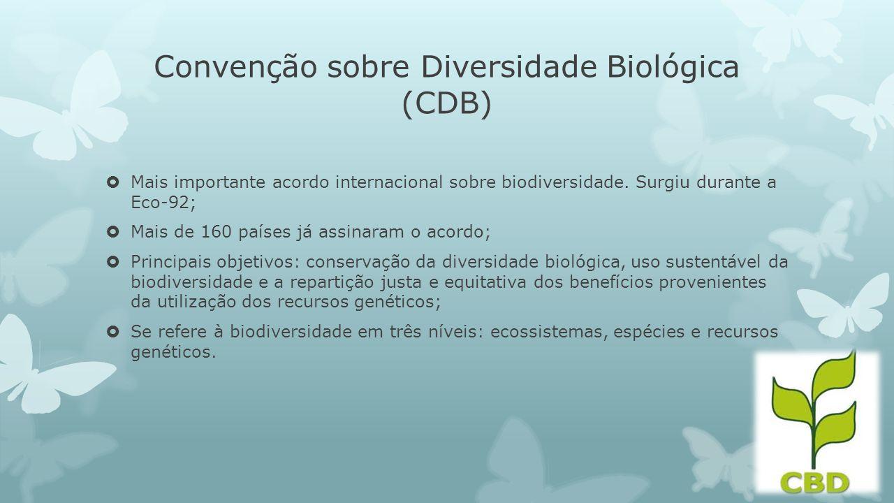 Convenção sobre Diversidade Biológica (CDB)