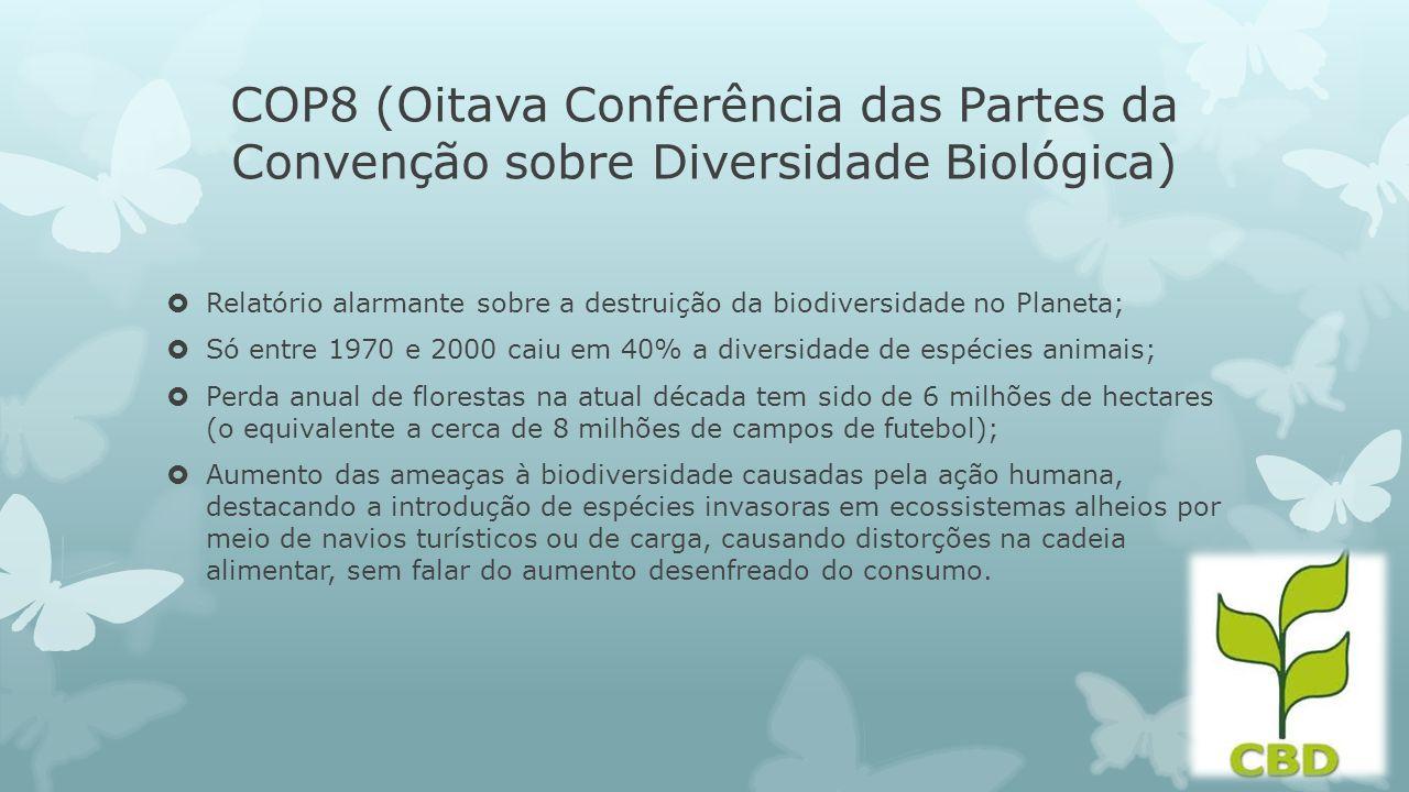 COP8 (Oitava Conferência das Partes da Convenção sobre Diversidade Biológica)