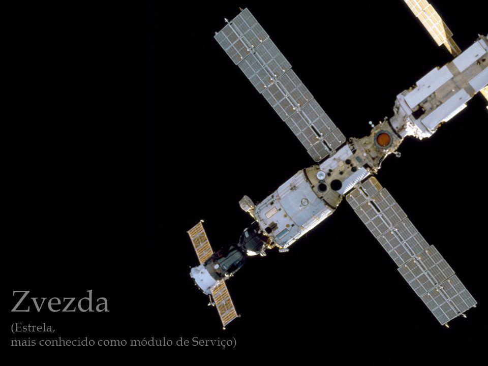 Zvezda (Estrela, mais conhecido como módulo de Serviço)