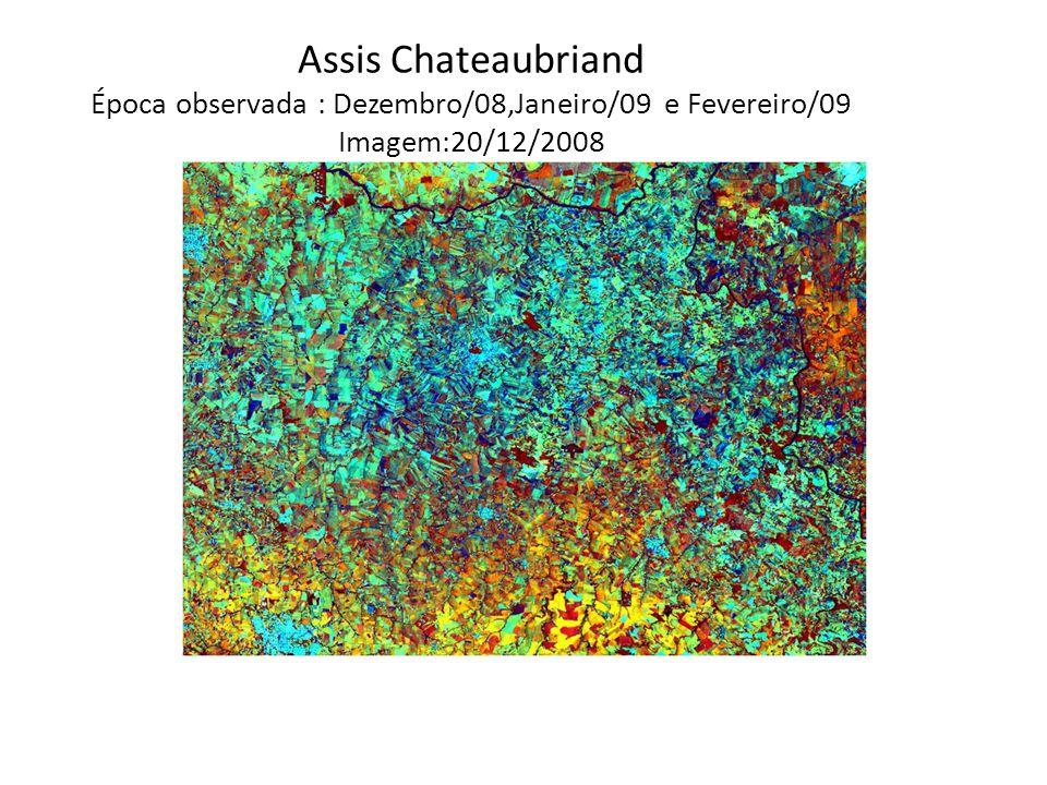 Assis Chateaubriand Época observada : Dezembro/08,Janeiro/09 e Fevereiro/09 Imagem:20/12/2008