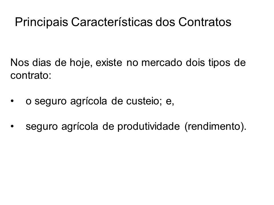Principais Características dos Contratos