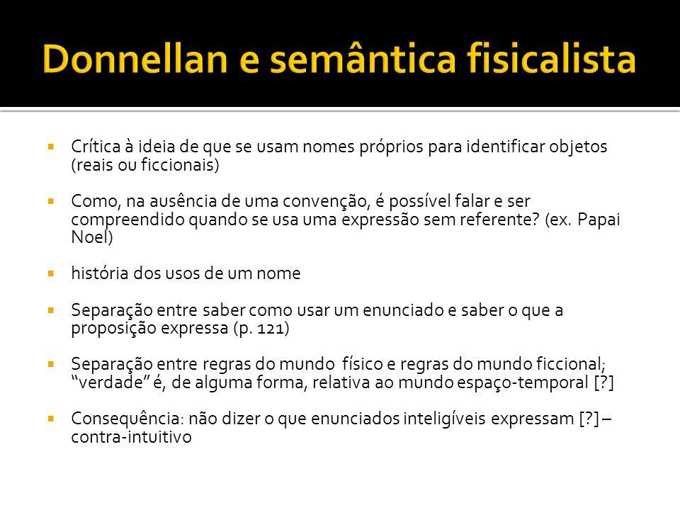 Donnellan e semântica fisicalista