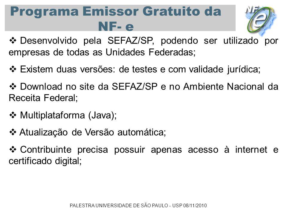 Programa Emissor Gratuito da NF- e