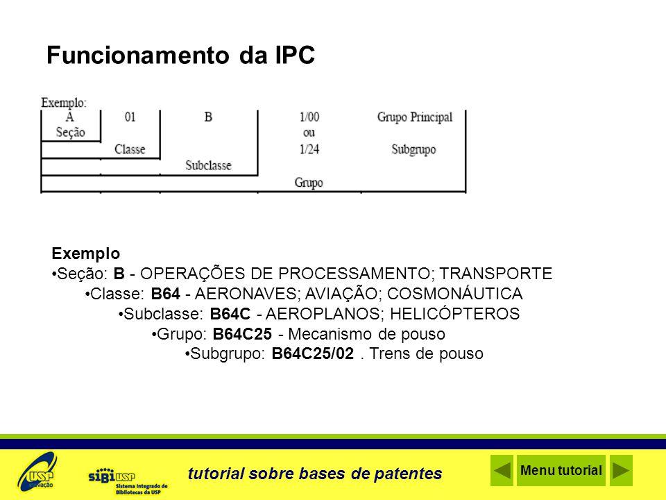 Funcionamento da IPC Exemplo