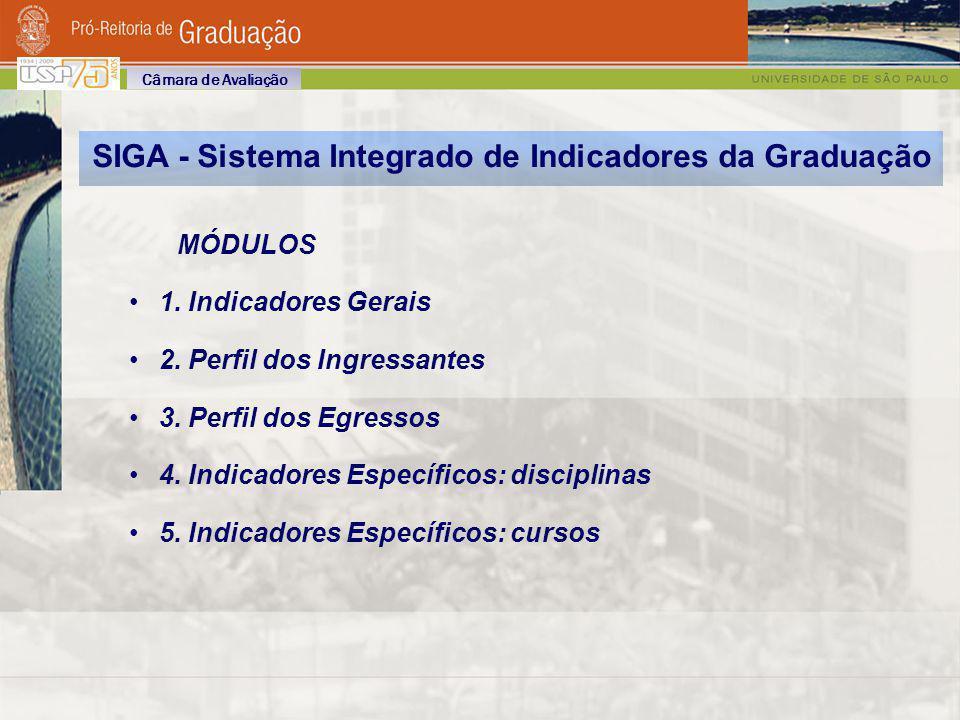 SIGA - Sistema Integrado de Indicadores da Graduação