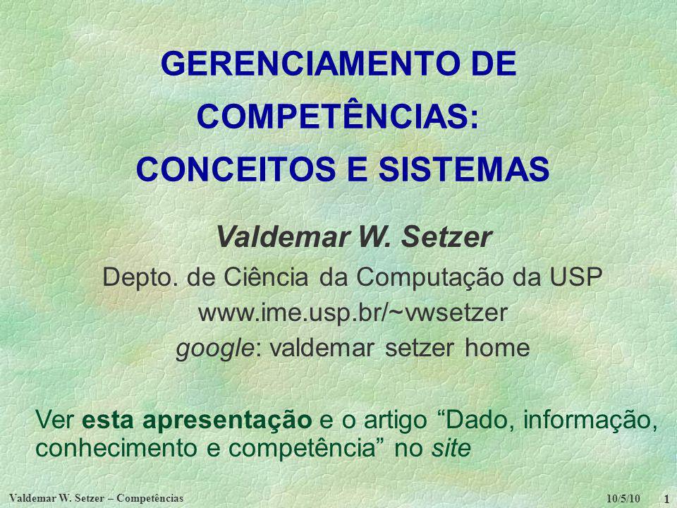 GERENCIAMENTO DE COMPETÊNCIAS: CONCEITOS E SISTEMAS