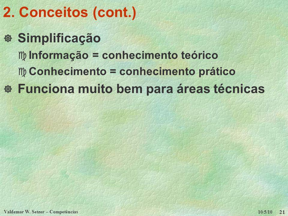 2. Conceitos (cont.) Simplificação