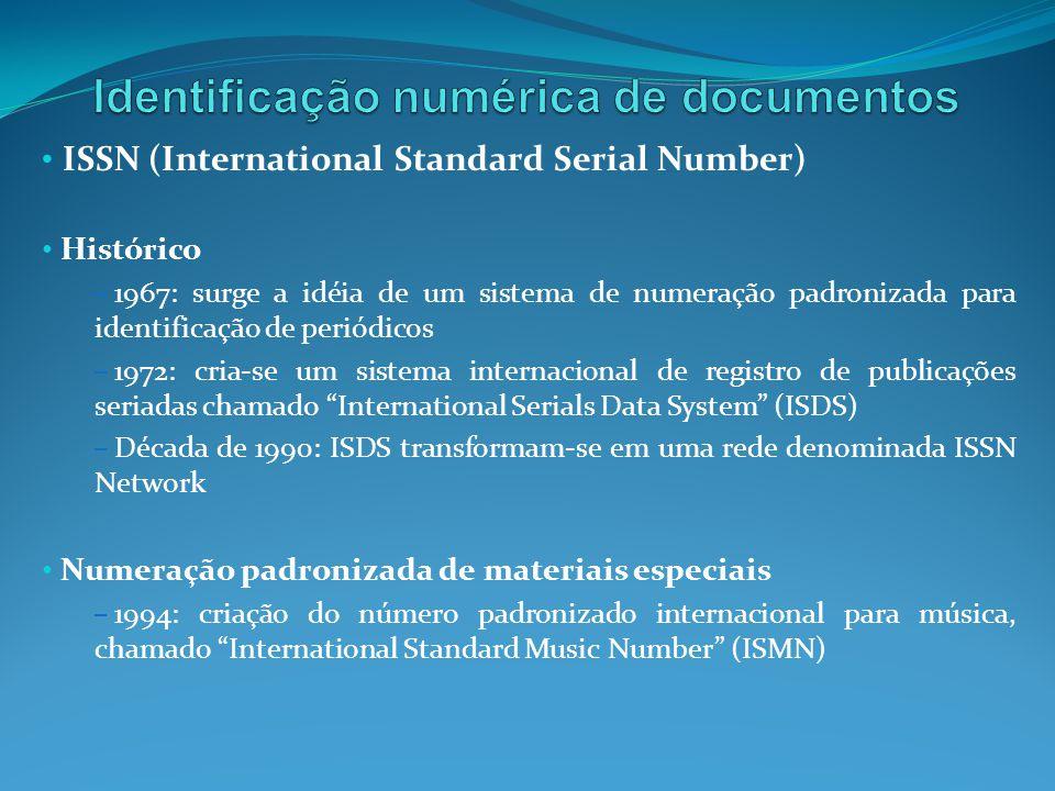 Identificação numérica de documentos