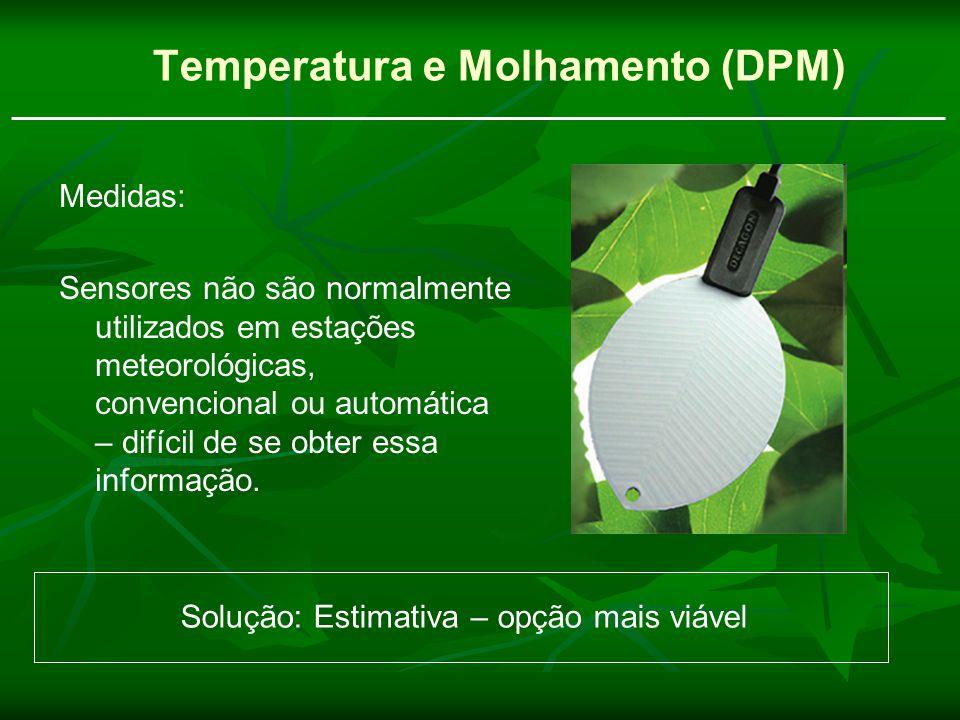Temperatura e Molhamento (DPM)