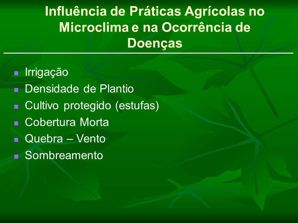 Influência de Práticas Agrícolas no Microclima e na Ocorrência de Doenças