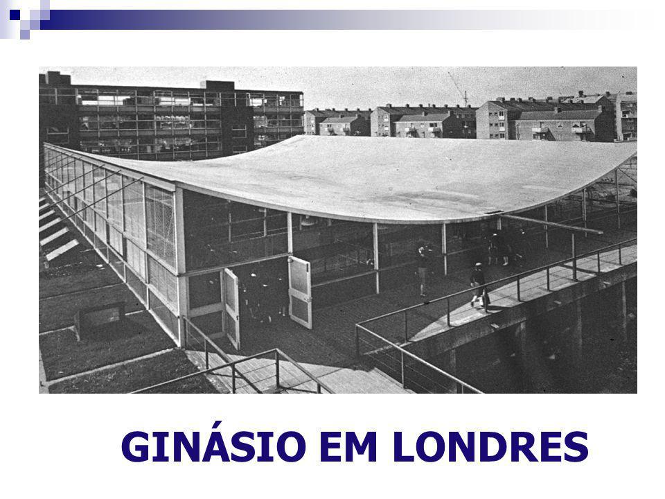 GINÁSIO EM LONDRES