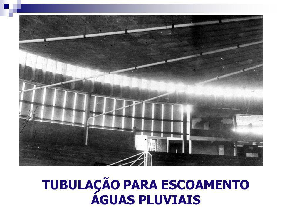 TUBULAÇÃO PARA ESCOAMENTO ÁGUAS PLUVIAIS
