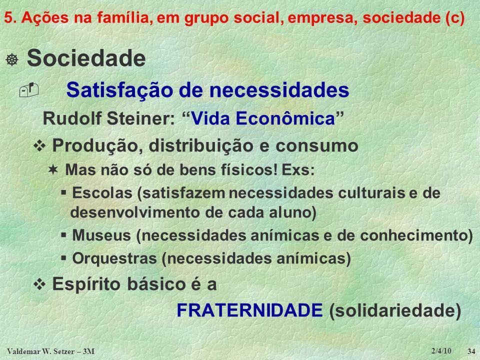 5. Ações na família, em grupo social, empresa, sociedade (c)