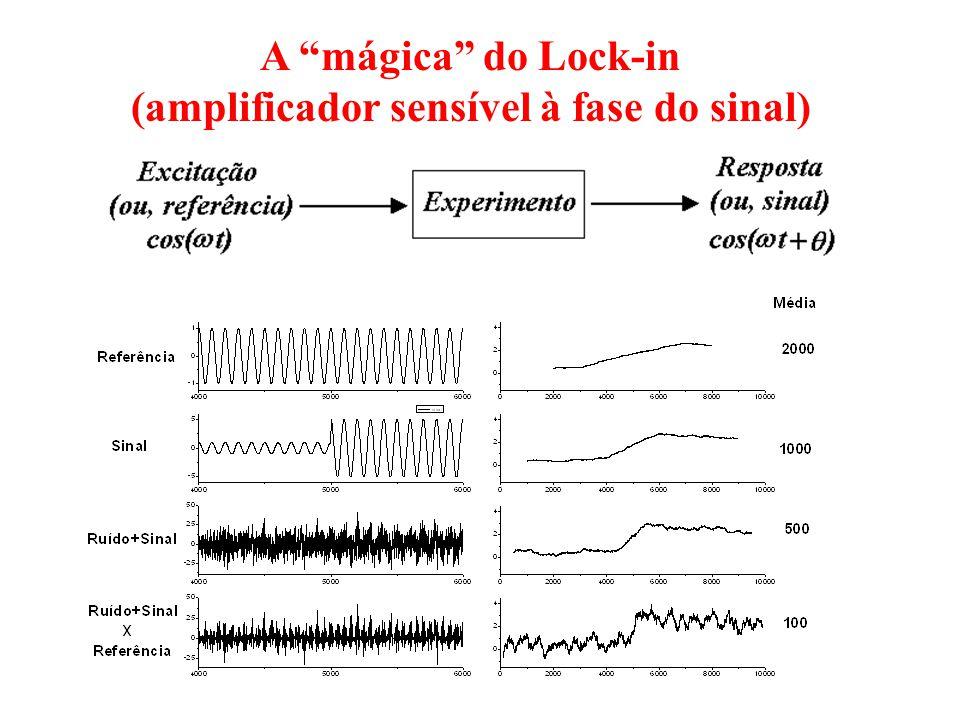 (amplificador sensível à fase do sinal)
