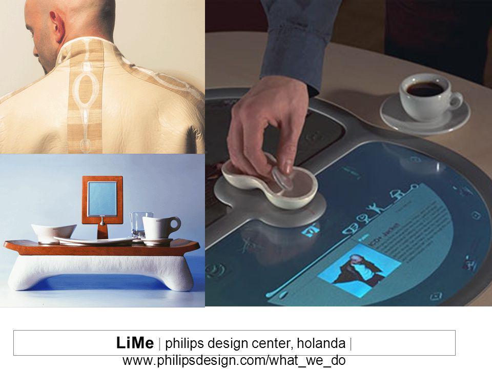 LiMe | philips design center, holanda | www. philipsdesign