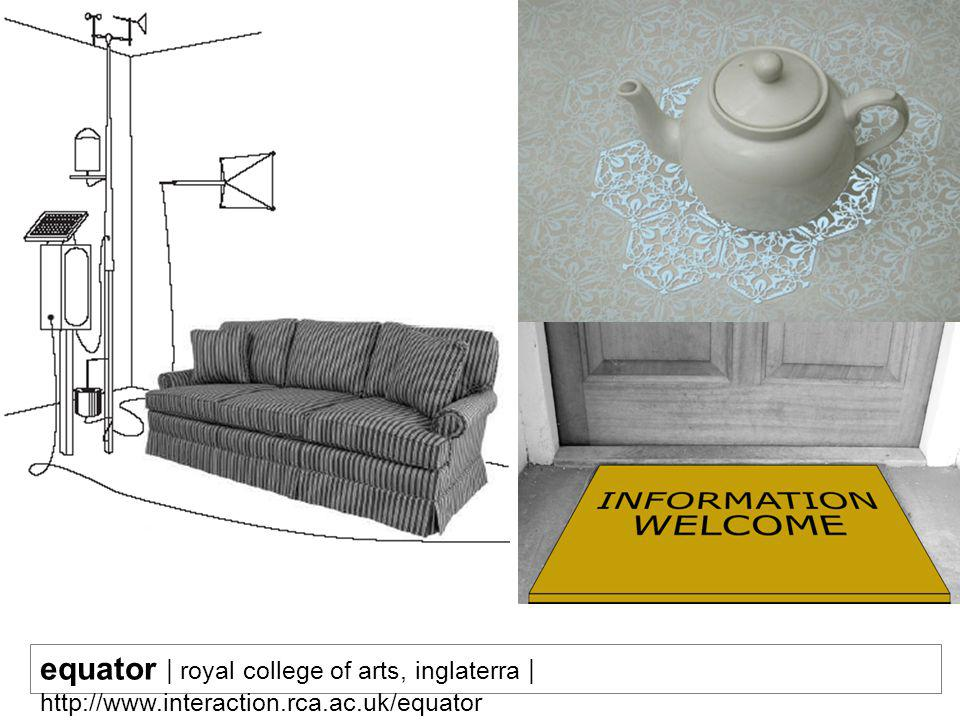 equator | royal college of arts, inglaterra | http://www. interaction