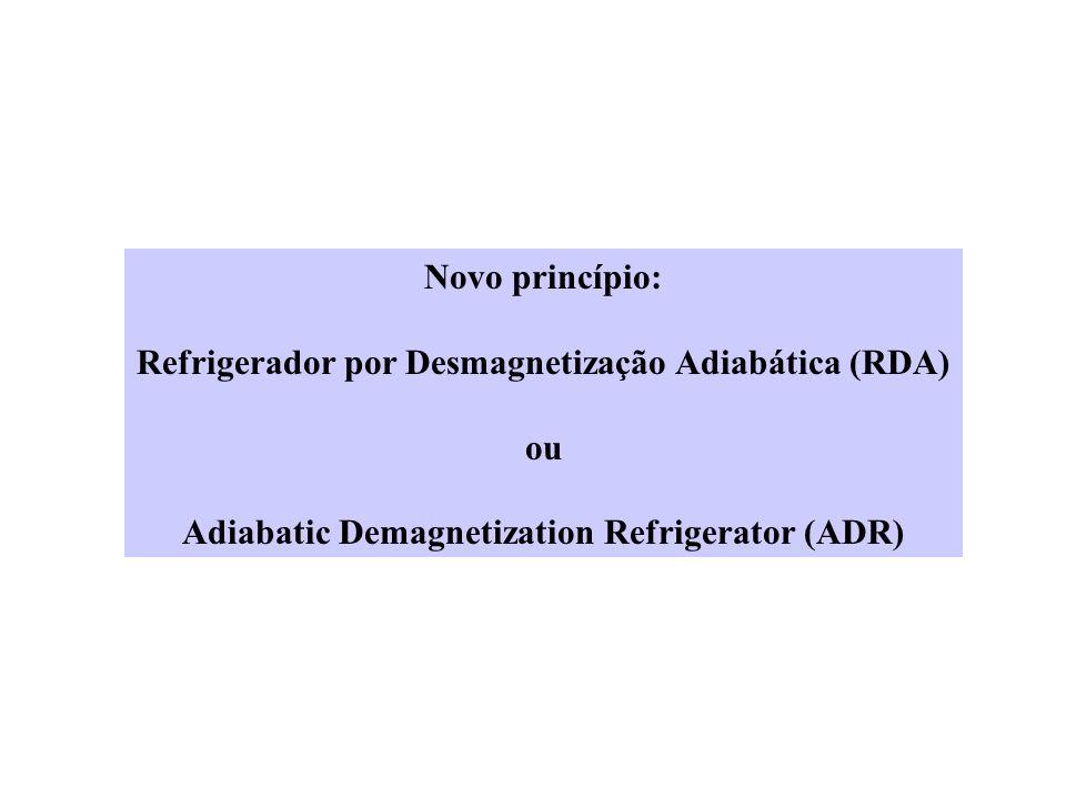 Refrigerador por Desmagnetização Adiabática (RDA) ou