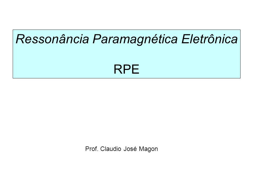 Ressonância Paramagnética Eletrônica