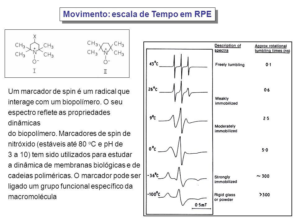 Movimento: escala de Tempo em RPE