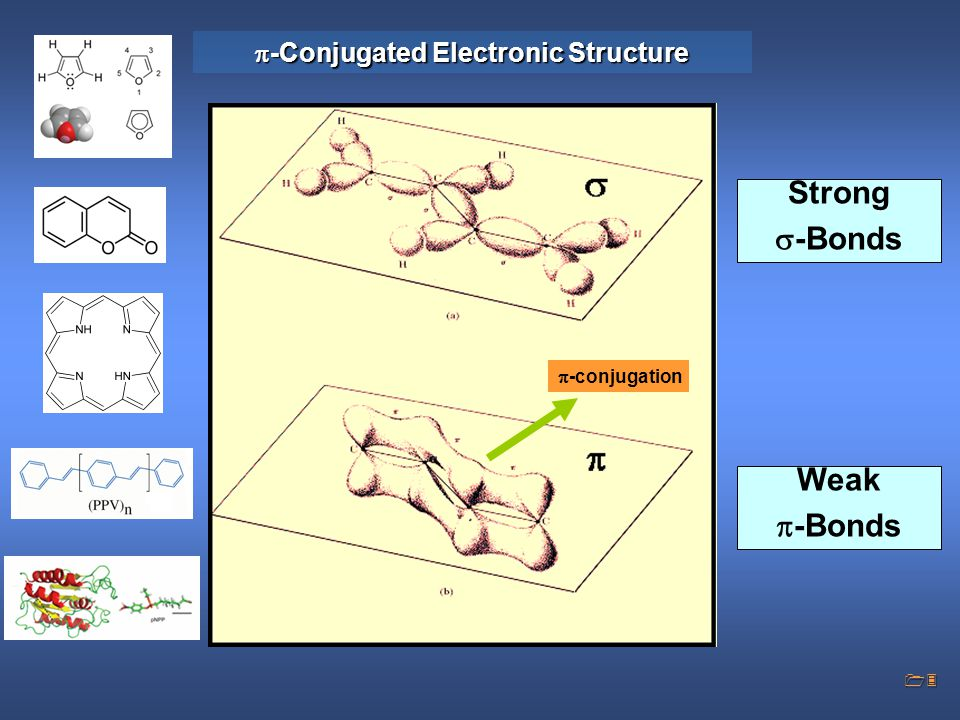 -Conjugated Electronic Structure