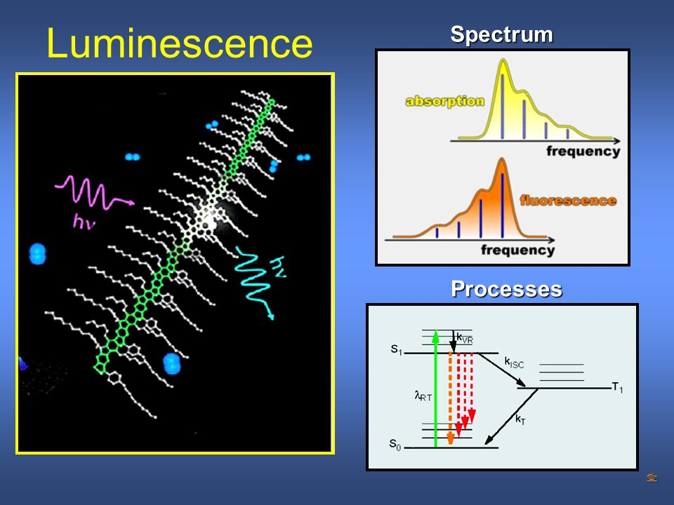 Luminescence Spectrum Processes WORKSHOP