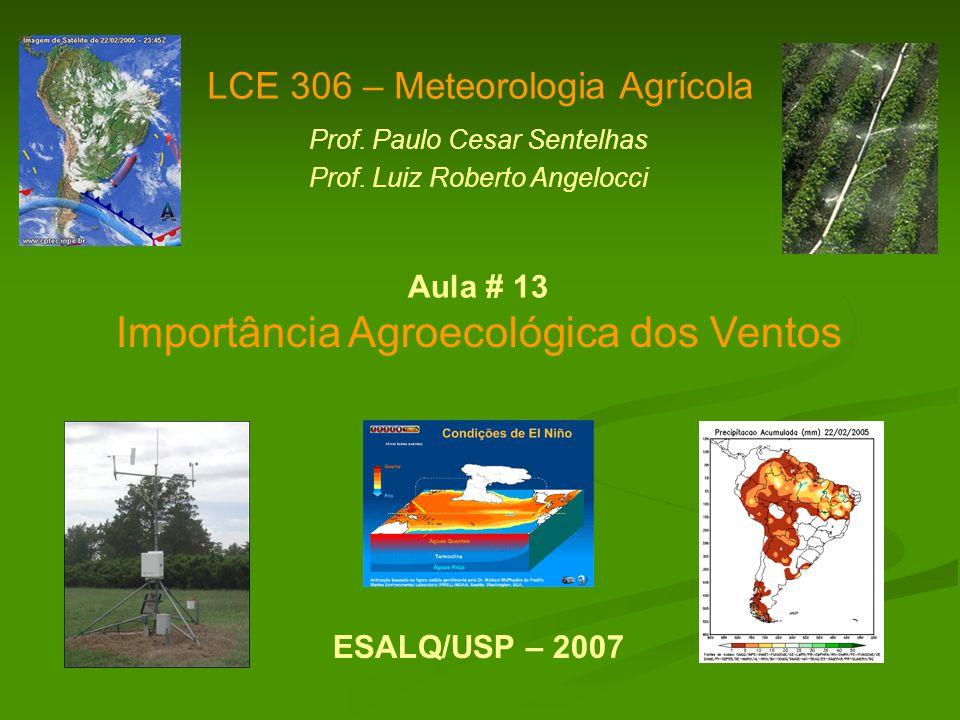 Importância Agroecológica dos Ventos