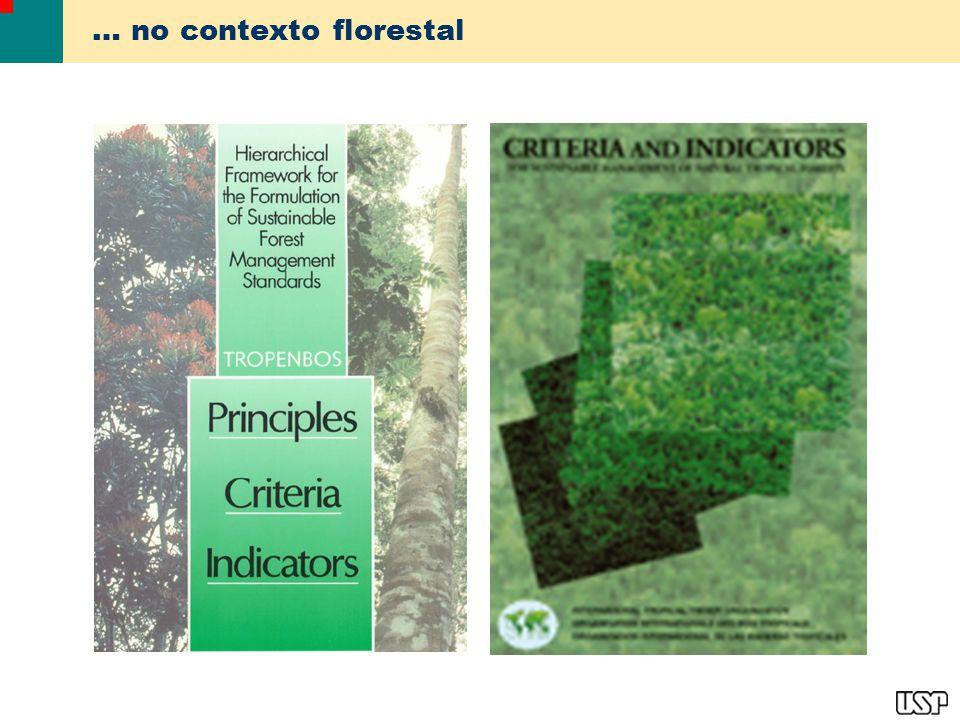 … no contexto florestal