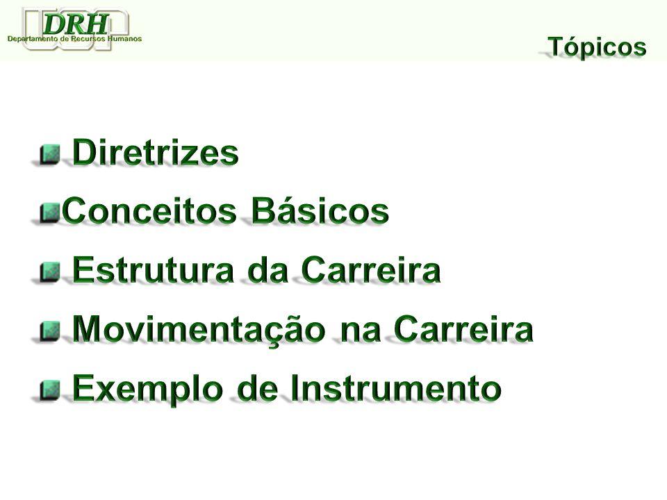 Movimentação na Carreira Exemplo de Instrumento