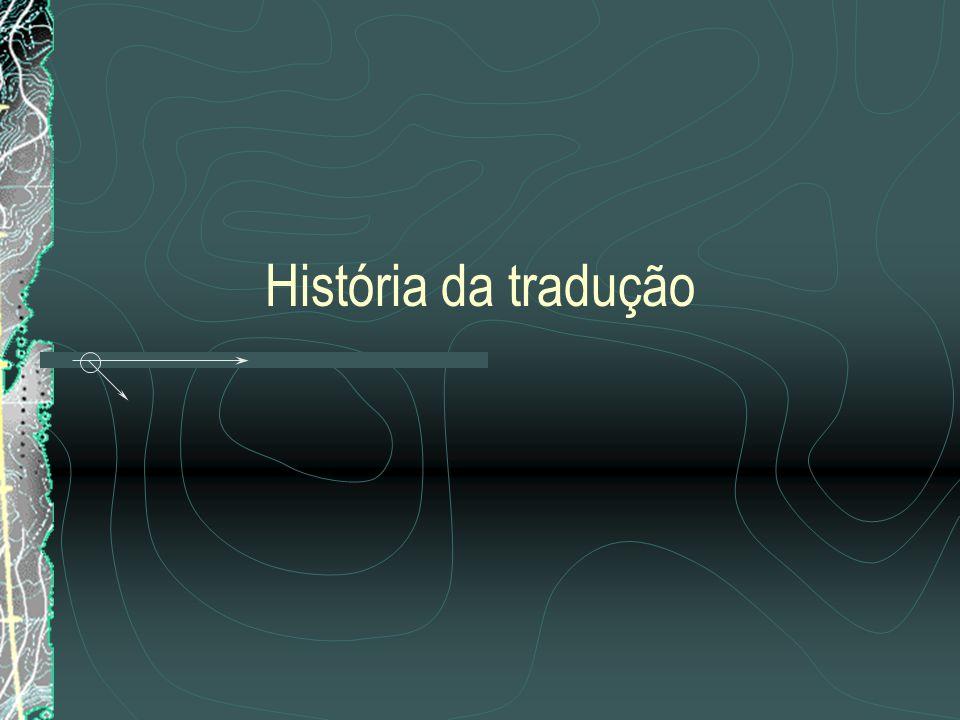História da tradução