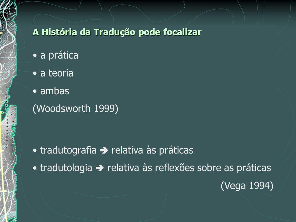 tradutografia  relativa às práticas