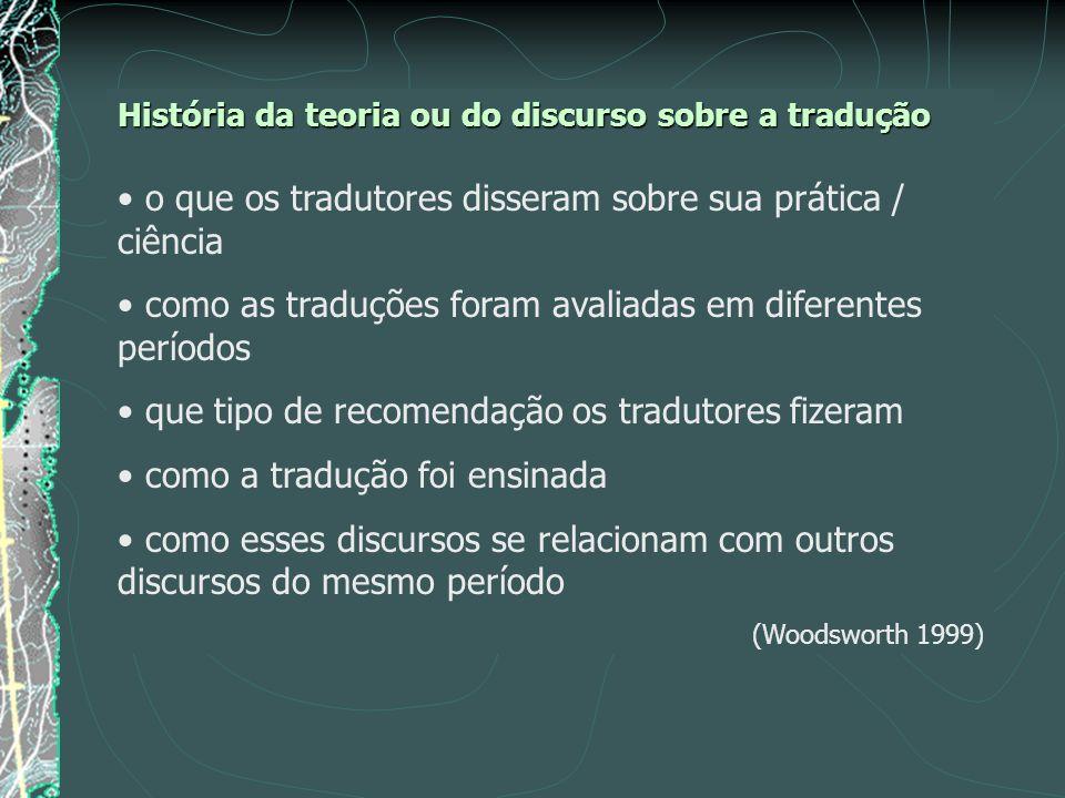 o que os tradutores disseram sobre sua prática / ciência