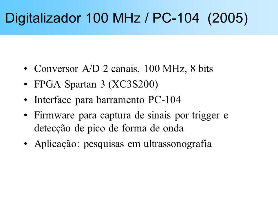 Digitalizador 100 MHz / PC-104 (2005)