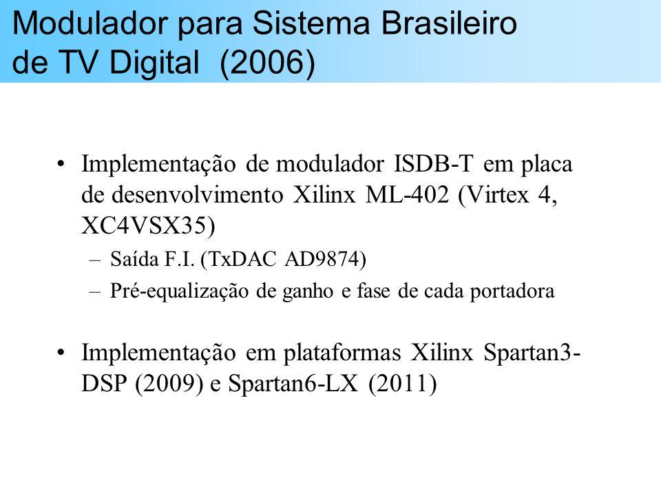 Modulador para Sistema Brasileiro de TV Digital (2006)