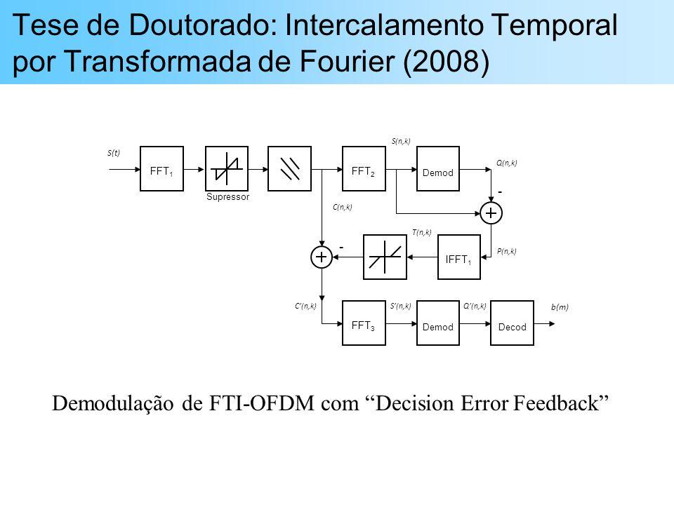 Tese de Doutorado: Intercalamento Temporal por Transformada de Fourier (2008)