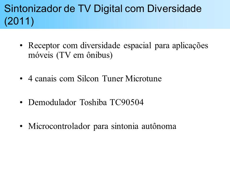 Sintonizador de TV Digital com Diversidade (2011)