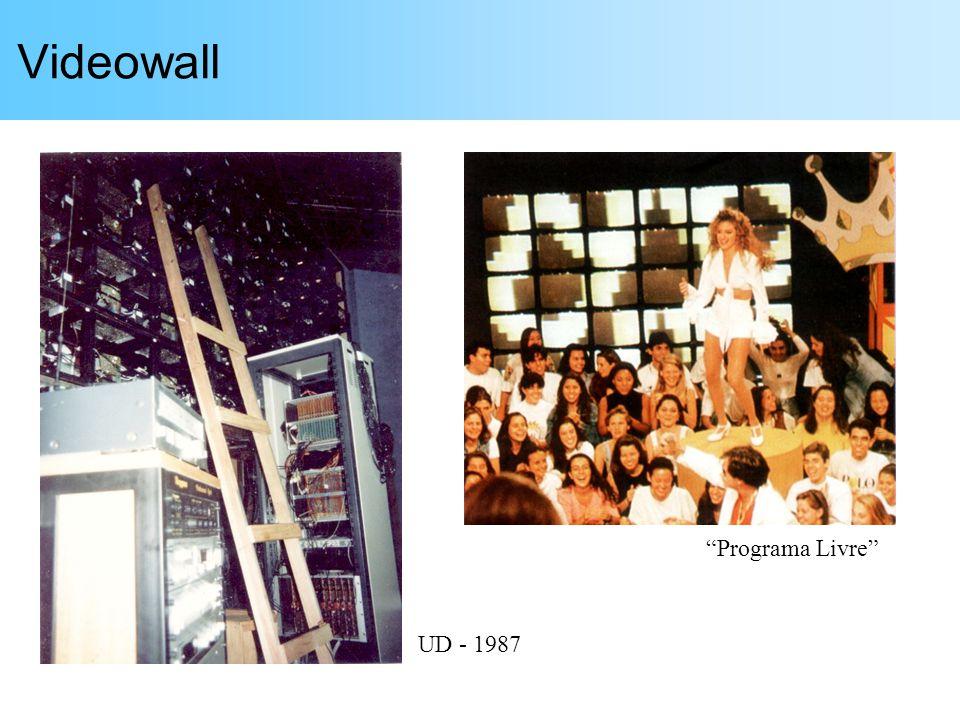 Videowall Programa Livre UD - 1987