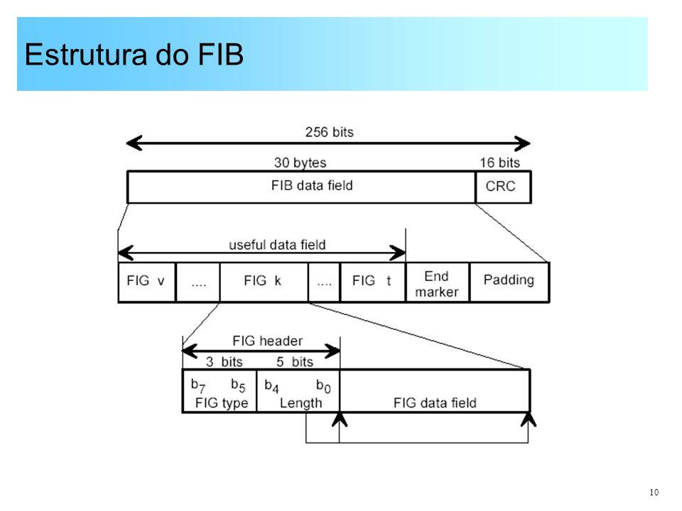 Estrutura do FIB