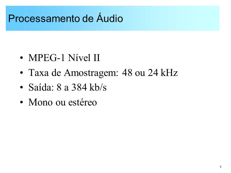Processamento de Áudio