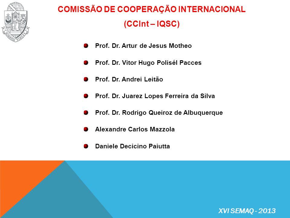 COMISSÃO DE COOPERAÇÃO INTERNACIONAL