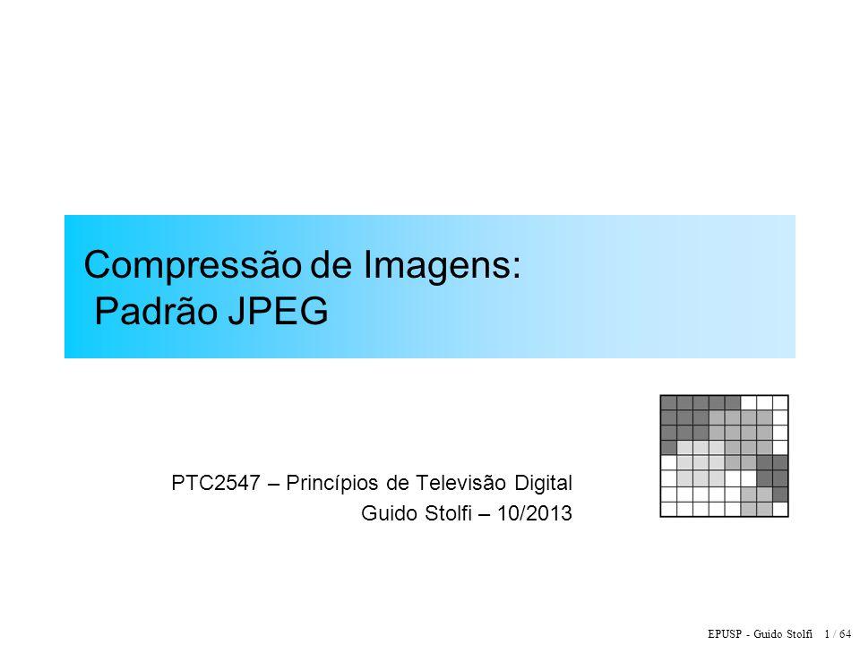 Compressão de Imagens: Padrão JPEG