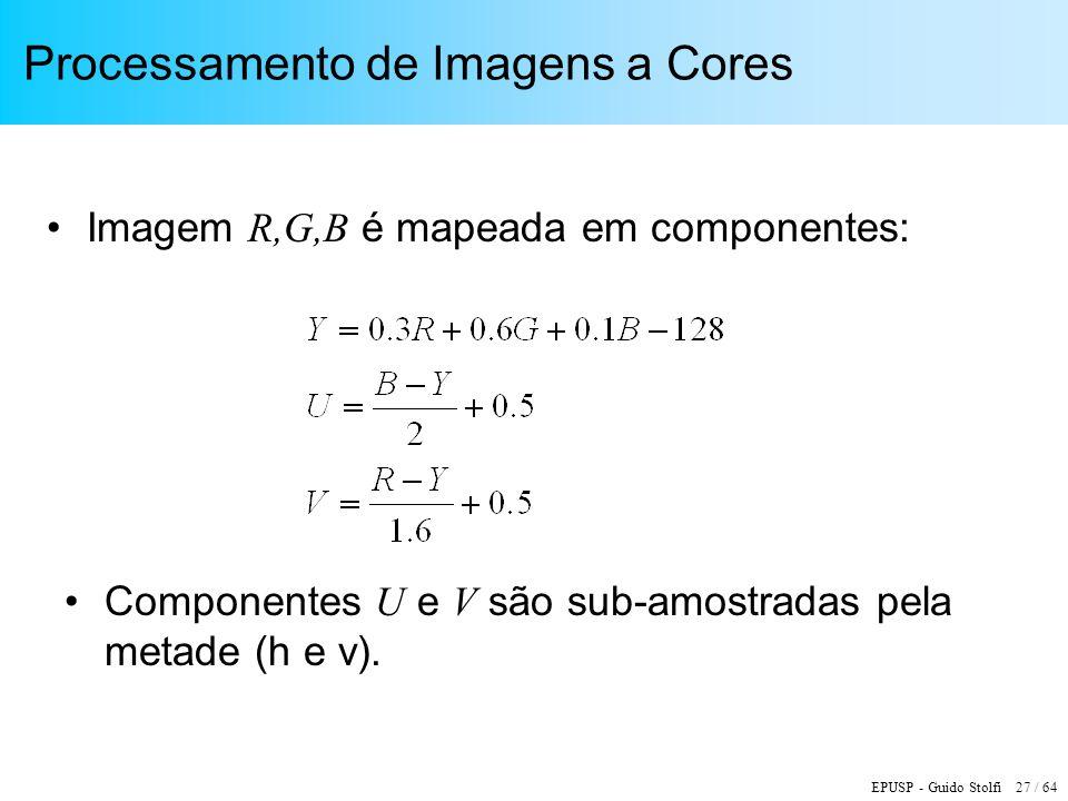 Processamento de Imagens a Cores