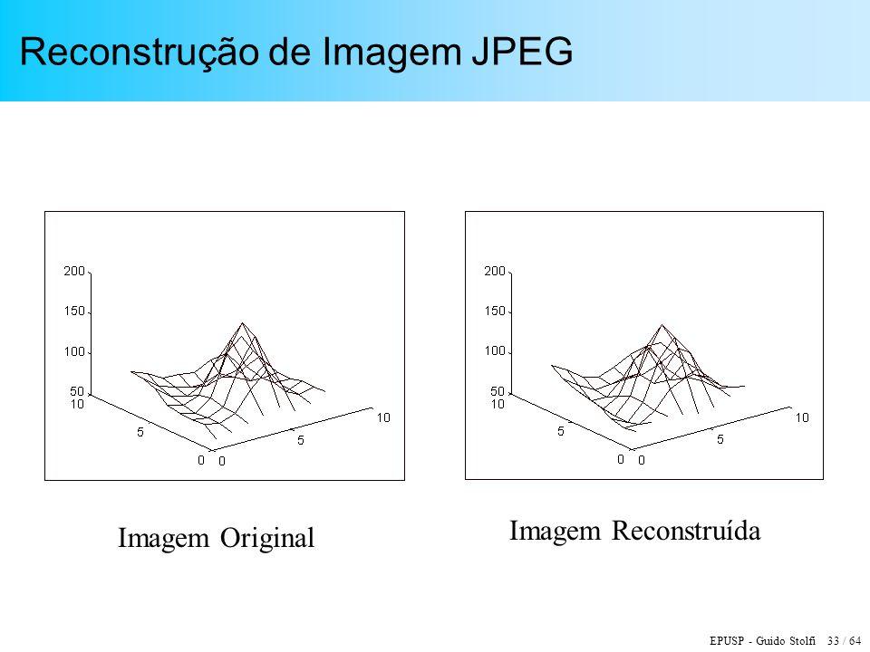 Reconstrução de Imagem JPEG