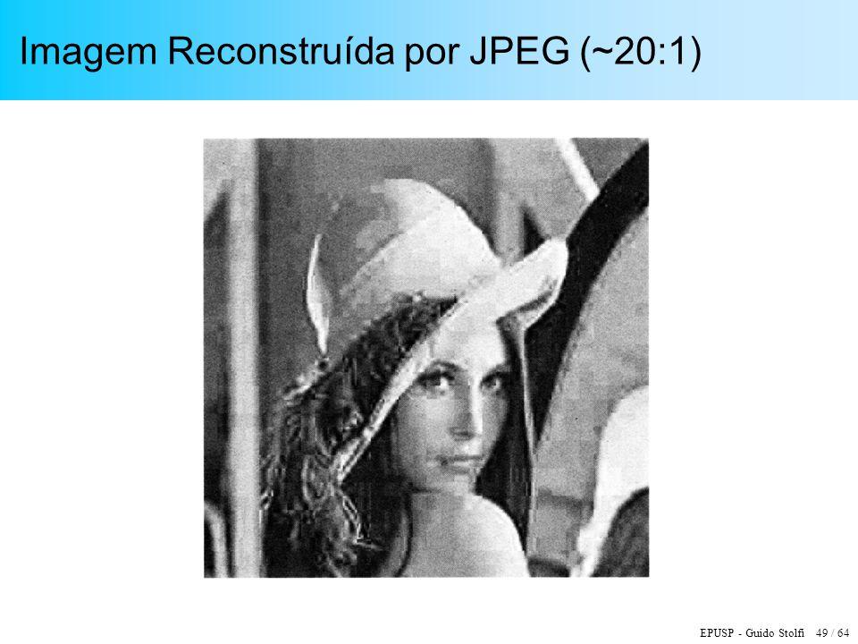 Imagem Reconstruída por JPEG (~20:1)