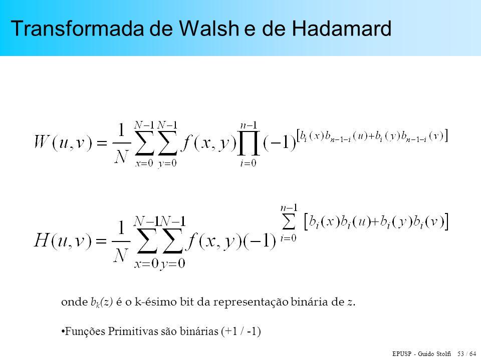 Transformada de Walsh e de Hadamard