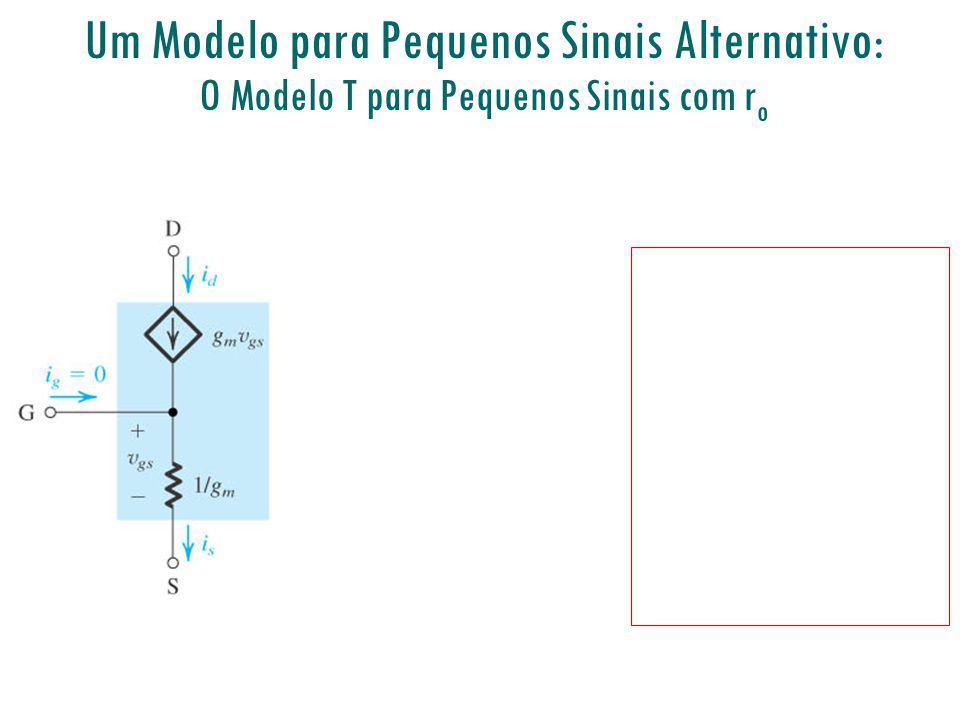 Um Modelo para Pequenos Sinais Alternativo: O Modelo T para Pequenos Sinais com ro