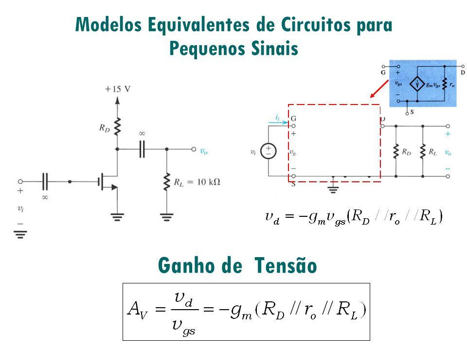 Modelos Equivalentes de Circuitos para Pequenos Sinais