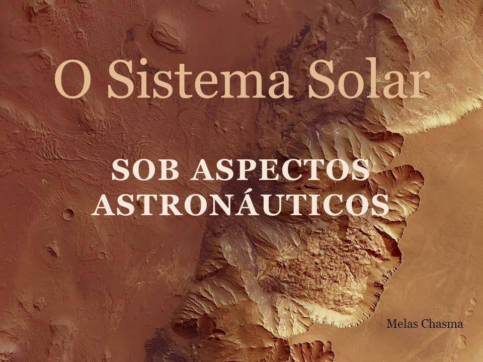 Sob aspectos astronáuticos